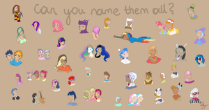 Can you name them all... by MeiYoko