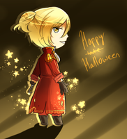Happy late Halloween! by Gradient-Of-Gold