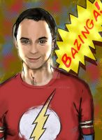 Bazinga by fxdemon