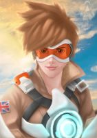 TRACER [ OVERWATCH ] by ArtDO