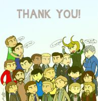 THANK YOU! by Bisho-s
