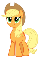 Applejack: Faithful and Strong by Takua770