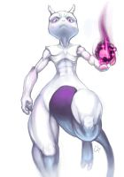 Another Mewtwo by MatchLight