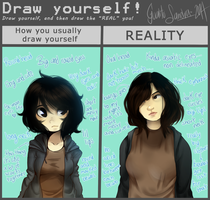 Real self meme by GualitoSandra