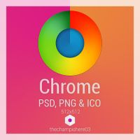 Chrome icon 512x512 by thechampishere03