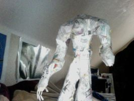 Cyberdemon sculpture (unable to finish) by Jack-the-hedgehog15