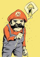 Mario got some colour yo by MikimusPrime