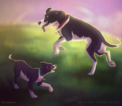 Rest in Peace Max by Artzipants