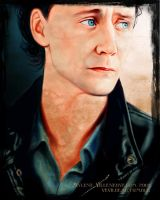 Tom Hiddleston by PrincessTigerLili