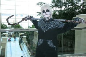 Jack Skellington Frost by SarrinaWolfChick
