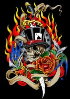 Skull and Dagger by russellink