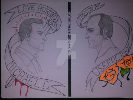 Michael D. and Trevor P.: LoveHurts/UsefulIdiot by MrHookerHusband187