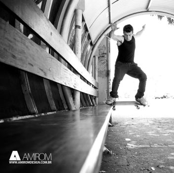 Skateboard by Amirom