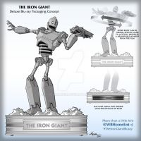 The Iron Giant Deluxe Blu-ray Concept by YodaMaker