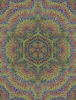 ruthcouldbe's busy, busy, busy mandala by Valpigle