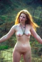 Redhead with Necklaces by rylstone