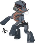 MLP Crysis Ceph Crossover by xeno-scorpion-alien