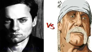 *Request* Tobey Maguire VS Hulk Hogan by DeRpYhOoVvEs
