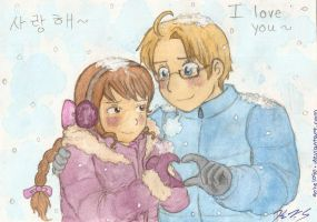 Winter Love by gohe1090