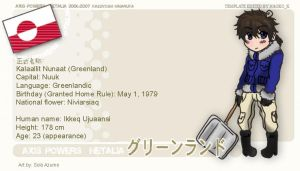 Hetalia Profile: Greenland by SoloAzume