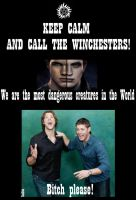 Supernatural keep calm 3 by SashAdam