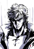 Kenshiro by the-hary