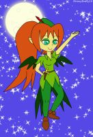 Harper cosplaying as Peter Pan by HoneyBatty16