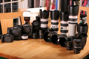 Canon stands tall by Calzinger
