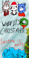 Merry Christmas 2012 by TheIcedWolf