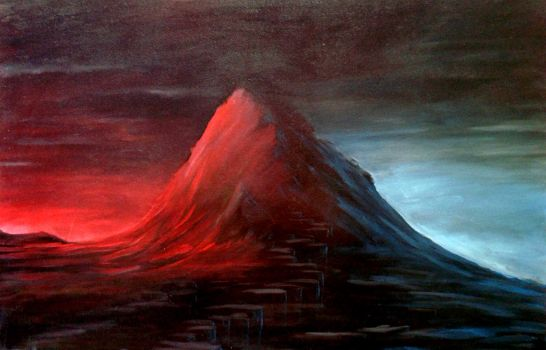 mountain by SteAus