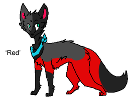 Red Dog Adopt/Breedable - Adopted by Feralx1
