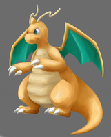DRAGONITE by ieaka