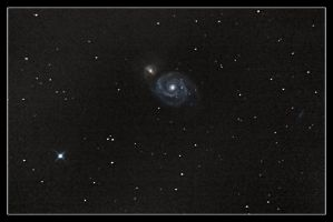 The Whirlpool Galaxy by digiurgic