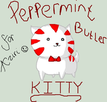 Adventure time: Peppermint Butler Kitty by icanhascheezeburger