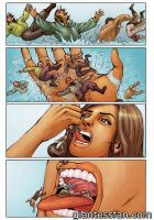 Giantess Mermaid Vore scene by giantess-fan-comics