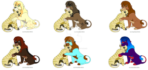 lion breedable by King-Zack-Thylacine