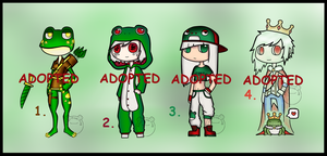 Offer to Adopt: Frog (CLOSED) by Adopt-From-Frog