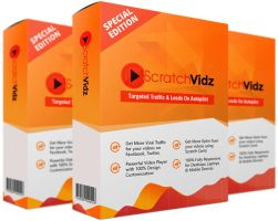 Scratch Vidz review and $26,900 bonus - AWESOME! by guyivibu