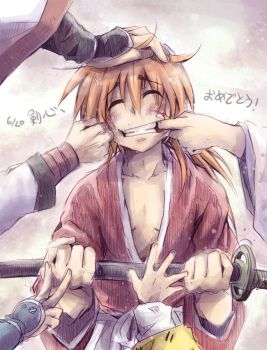 Happy birthday Kenshin 2014 by hangdok