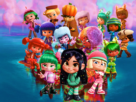 Vanellope and the Sugar Rush Gang Wallpaper by 9029561