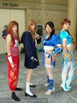 DoA group cosplay2 by animeadict