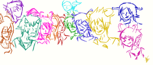 Shitty group Sketch by AKillersMiracle