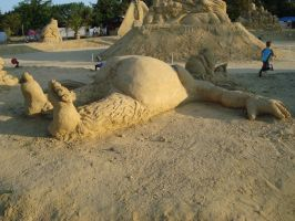 Sand art in burgas 23 by tonev