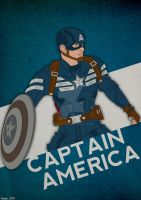 Captain America: True Blue Variant by GTR26
