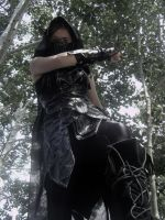 Death from Above--Skyrim Cosplay by audrey-vista