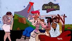 Universal studios florida in the 90s by Makinita