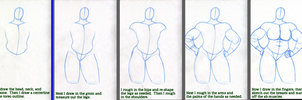Figure drawing step by step by Tonuss