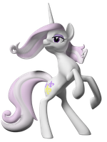 Fleur de Lis 3D Model by Clawed-Nyasu