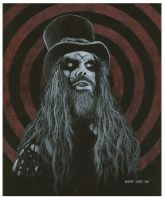 Rob Zombie - Sketch by mikegee777