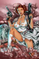 leia inks by devgear Renders By Brad Eastburn by eastphoto99